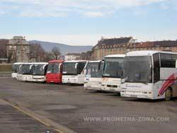 parkiralište za autobuse