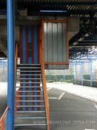 stepenice na peronu