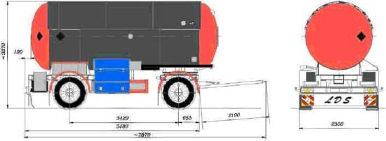 cisterna tipa PGS 19