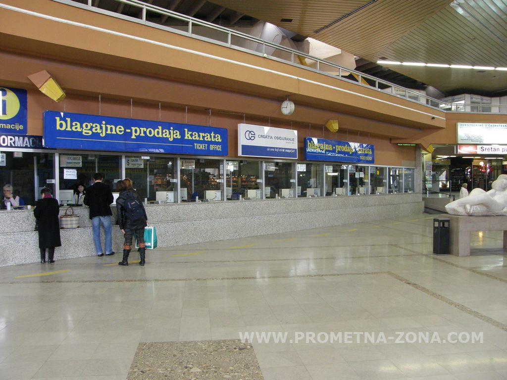 Autobusni Kolodvor Zagreb Fotografije Prometna Zona