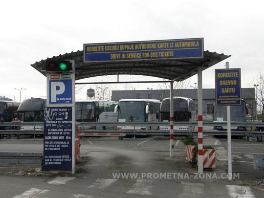 parkiralište autobusnog kolodvora