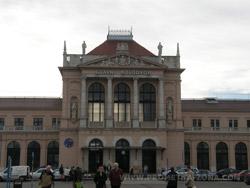Glavni ulaz na Glavnom kolodvoru